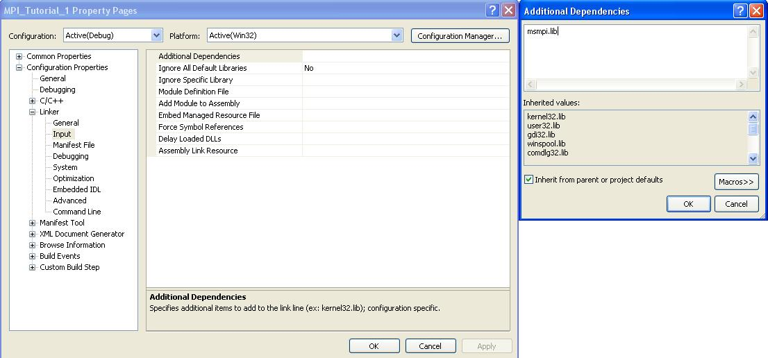 Getting Started with MPI using Visual Studio 2008 Express