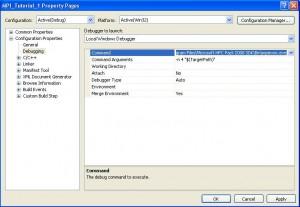 Configure Command Line